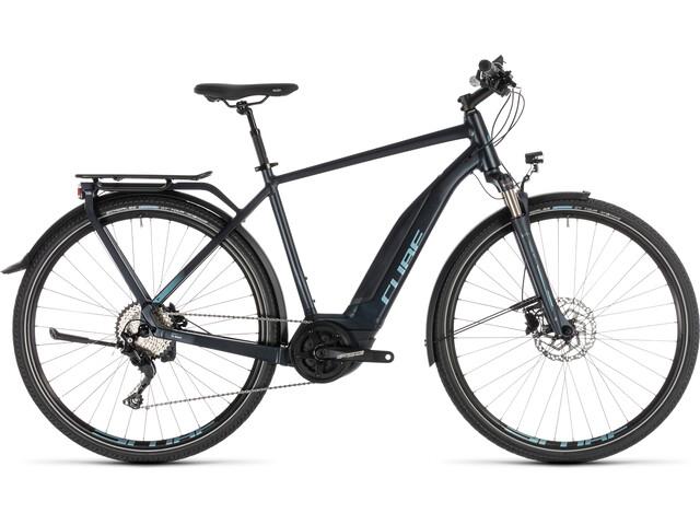 Cube Touring Hybrid Pro 500 - Bicicletas eléctricas de trekking - azul